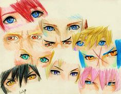 Kingdom Hearts eyes