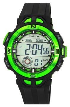 2be6b5f3698a0 Armitron Metallic Bezel Digital Watch, 47mm gifters.com digital watches for  men