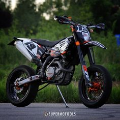 KTM EXC530 Rider: Crashking!