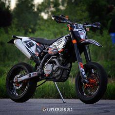 KTM EXC530 Rider: Crashking!
