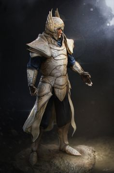 Hey there, new stuff ! First render of this elvish armor in Zbrush. I will post the other renders wheeeen it's done.  tumblR :kailyze.tumblr.com/  Facebook :&nbs...