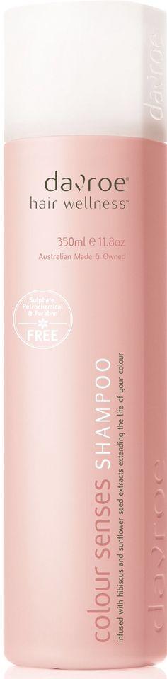Davroe Colour Repair Senses A gentle shampoo that helps repair damaged hair