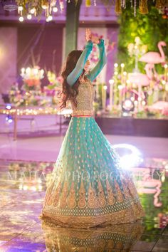 *KASHEES (UMAIRISH)*Embroidered luxury collection*Full suit on net**Front fully embroidered with full handwork**Back embroidered**Sleeves embroidered with handwork**Front daman embroidered with handwork**FULLY EMBROIDERED LEHENGA**Neck embro. Pakistani Mehndi Dress, Pakistani Dresses Online, Pakistani Wedding Outfits, Indian Gowns, Pakistani Wedding Dresses, Pakistani Dress Design, Indian Outfits, Pakistani Frocks, Asian Bridal