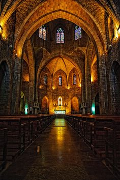The Church of Sant Pere in Figueres, Spain. One of the cities my family originates from!