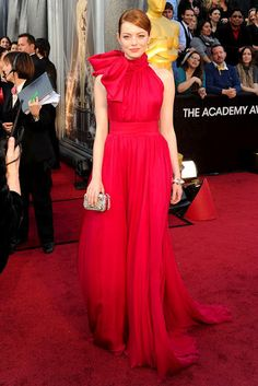 Love Emma Stone and LOVE this dress!