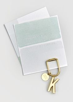 Quote Cards and Alphabet Key Ring