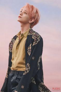 [Official Pledis Entertaiment Naver Update] Seventeen Joshua Fallin' Flower Jacket Shooting Behind Woozi, Jeonghan, Wonwoo, The8, Seungkwan, Jisoo Seventeen, Joshua Seventeen, Seventeen Debut, Hip Hop