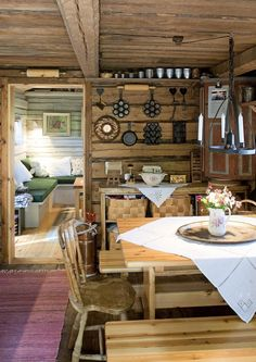 This is what the most beautiful cottages in Finland look like We got home – Scandinavian 2020 Cabins And Cottages, Log Cabins, Fashion Room, Cottage Homes, Scandinavian Interior, My Dream Home, Beautiful Homes, Sweet Home, Rustic