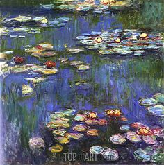 Water Lilies,1916 | Monet | National Museum of Western Art Tokyo Japan