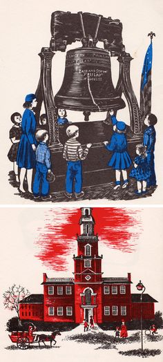 The Story of the Liberty Bell by Natalie Miller, illustrated by Betsy Warren, 1965.