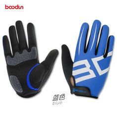 Boodun 2017 New Mountain Bike Bicycle Sport Gloves Full Gel Gloves Long Men Women BMX Racing Motorcycle Gloves Free Shipping #Affiliate