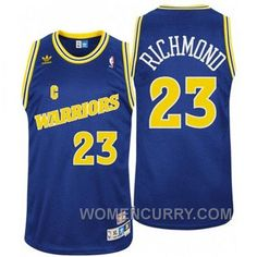 74c289ef25e Mitch Richmond Golden State Warriors  23 Throwback Swingman Blue Jersey For  Spring