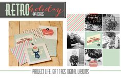 Free 4x4 Digital Holiday Cards from Persnickety Prints