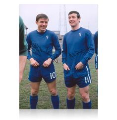 Stunning colour photo of Chelsea football favourites Bobby Tambling & John Boyle hand signed by Chivers & England. Own a piece of sporting history Each signed photo comes with a certificate of authenticity. Chelsea Football, Chelsea Fc, Vintage Football, Working Class, Bobby, Ticket, Legends, Blues, Graphic Sweatshirt