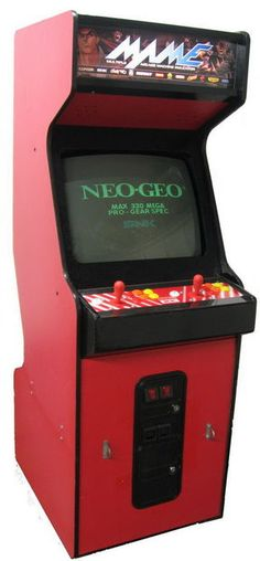 MAME Arcade Cabinet created from salvaged Neo Geo / Street Fighter II CE cabinet.