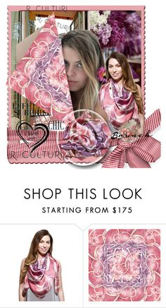 """Silk scarf"" by lila2510 ❤ liked on Polyvore featuring modern"