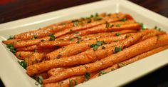 These roasted carrots are savory and perfect for your holiday table or Sunday dinner.