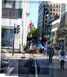 Walking Montreal #walking #city #people #building Walking City, City People, Montreal, Street View, Building, Buildings, Architectural Engineering, Tower