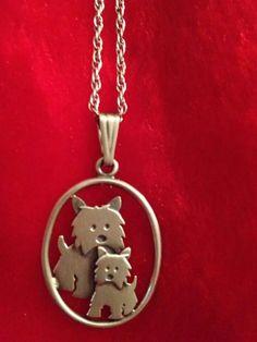 Westie necklace
