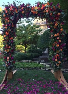 The most beautiful arbor for our daughter's wedding! #crookedrootsdesign #tulsa