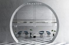 Instagram 上的 Salvatori:「 For those restaurant owners amongst us, or simply lovers of great design, this project is an example of how natural stone can create a… 」 Arch Interior, Restaurant Owner, Natural Stones, Lovers, Canning, Mirror, Create, Projects, Instagram