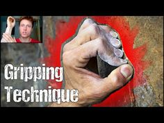 Rock Climbing Technique for Beginners : The Importance of Gripping Technique ! Crimps VS Open Grips - YouTube