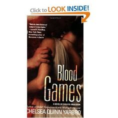 """one of my favorite St. Germain books, Blood Games by Chelsea Quinn Yarbro, in which he meets Olivia Clemens and survives his """"time on the sands"""" in the Roman Games.  this series is actually pretty interesting for nonvampire fans too; lots of period detail in following one vampire throughout various historical times in his very long life"""