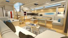 Discover the New Interior of the Amel 64