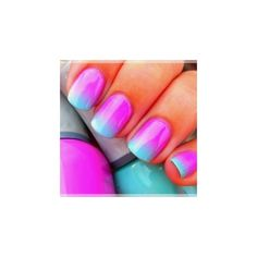 Awesome Nails found on Polyvore