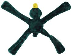 "$13.00-$13.00 Doggles Plush Penta Dog Toy, Green, Bear - Shake it. Tug it. Throw It. Way tougher then your average plush toy. Three cute animals to choose from. Entire toy is cut from one piece of fabric, this means no extra seams. Inside sewing reinforced with nylon for durability. Internal ""X"" of nylon creates a tough tugging toy. Soft on mouth, one squeaker in body. http://www.amazon.com/dp/B003QUY5L6/?tag=pin2pet-20"