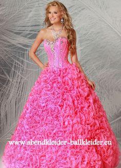 Pinkes Abend - Ballkleid Brautmode Online