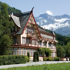 The Norwegian hotel chain #DeHistoriske includes some of Norway's fines, most charming hotels.#HistoricHotels