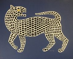 """Victor Vasarely Lithograph on Cast Paper, Leopard. Collaboaration with Frank Gallo, father of hand cast paper Titled """"Leopard"""" on cast paper, x circa century Victor Vasarely, Op Art, Wall Art Prints, Poster Prints, Posters, Arte Popular, Magazine Art, Famous Artists, Art For Sale"""