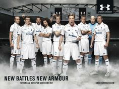 Under Armour // New Battles. New Armour. Tottenham Hotspur-kit campaign