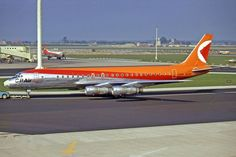 Pacific Airlines, Canadian Airlines, Douglas Dc 8, Airplane, Aviation, Aircraft, Evening Sandals, Airports, Jet Set