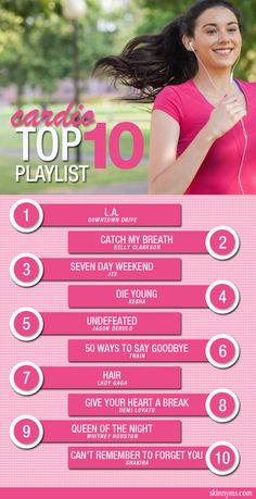 Cardio Top 10 Playlist #runningmusic #workoutmusic