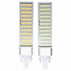 G23 12W 60 SMD 5050 LED Light Non-Dimmable Warm White/White Bulb 85-265V Sale-Banggood.com