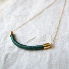 Image of GoldHearted - La Reine Necklace  http://www.shoptextileartscenter.com/product/goldhearted-la-reine-necklace#