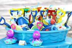 Under the Sea birthday party - printables from Chickabug!