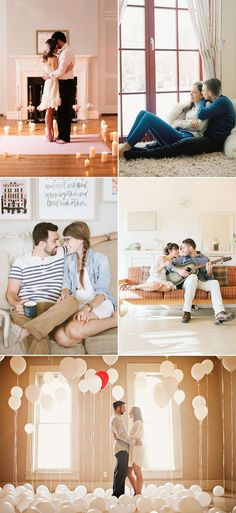 24 Sweet At-Home Engagement Photos That Will Melt Your Hearts!