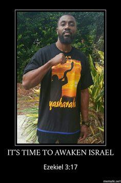 Qam Yasharahla!!! Rise Israël.  #HebrewIsraelites spreading TRUTH