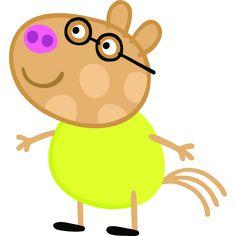 Peppa Pig em Png, George Pig em Png, mamãe e papai Pig em Png e amiguinhos da Peppa Pig.