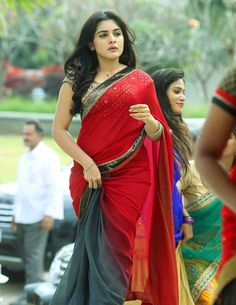 Niveda Thomas Saree Photos - South Indian Actress