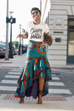 Ideas on african fashion outfits 190 African Print Dresses, African Print Fashion, Africa Fashion, African Fashion Dresses, African Dress, Fashion Prints, Ankara Fashion, African Prints, African Fabric