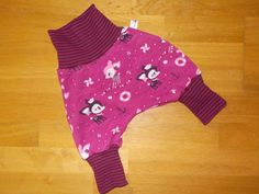 Pumphosen - Baby Kind Pumphose Wunschgröße, Hafenkitz lila - ein Designerstück…
