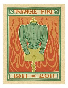 Triangle Shirtwaist Fire 85x11 print by peteremmerich on Etsy, $15.00