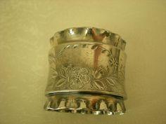 Victorian Silverplate Napkin Ring