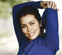 birgitte hjort sørensen as a brunette