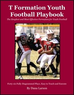 There are three different playbooks for the youth Football coach. www.digitalbookshops.com #Sports  #Football