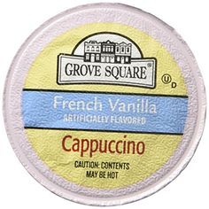 Grove Square French Vanilla Cappuccino 12 Ct ** Continue to the product at the image link. (This is an affiliate link) French Vanilla Cappuccino, Cappuccinos, Coffee Drinks, Gourmet Recipes, Brewing, Cravings, Image Link, Food, Essen